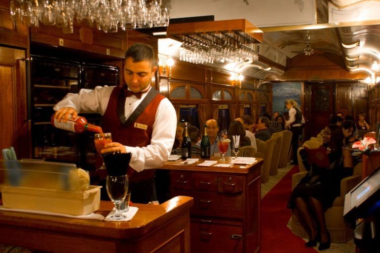 Gourmet Express wine train